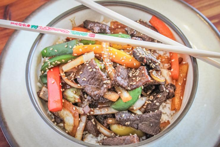Venison Black Pepper Steak Recipe