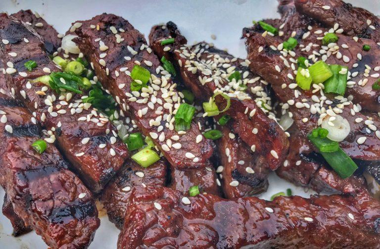 KOREAN BBQ VENISON